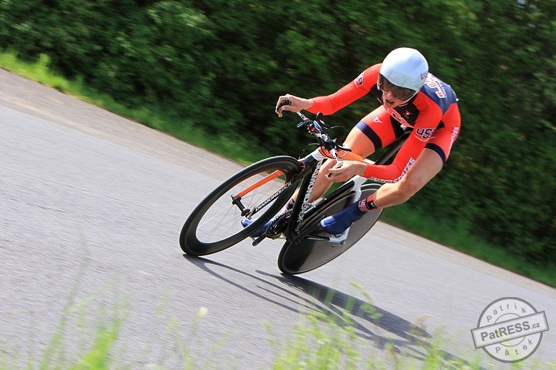 Brandon McNulty, who will be riding the Junior World Championships in the TT
